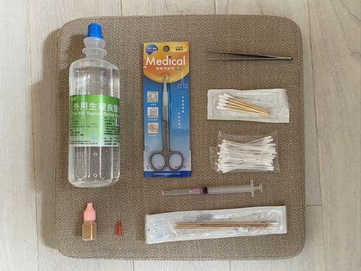 天竺鼠膿包清潔用器具